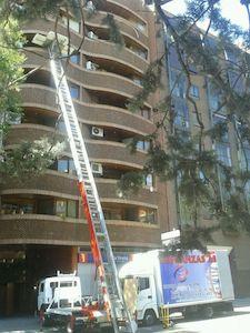 elevador de fachadas